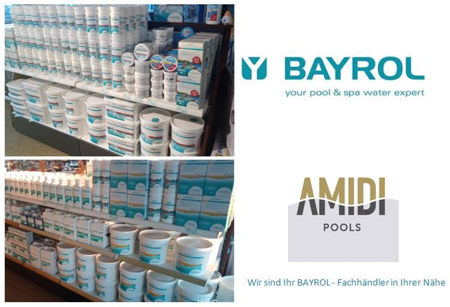 Wasserpflege von Bayrol eingetroffen